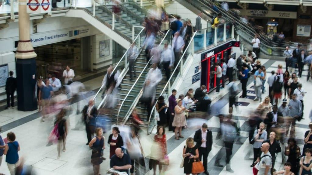通勤時間の購入