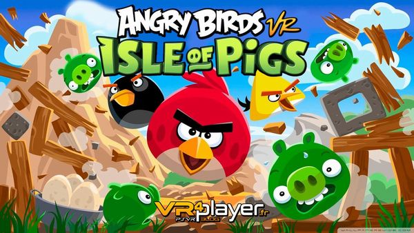 Angry Birds VR_Isle of Pigs