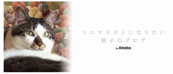 ミニマリスト_秋子