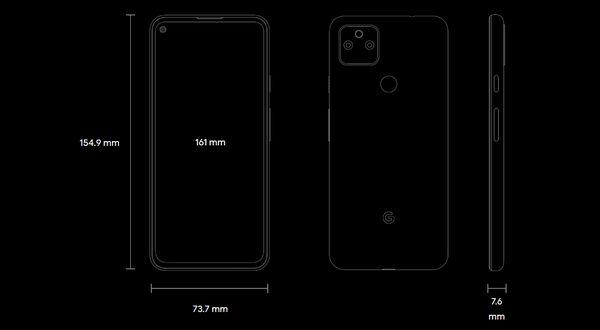 Pixel 5a (5G)_size